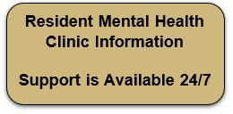 Resident Mental Health Clinic Information