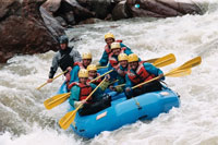 GEMS rafting on the Arkansas River