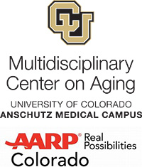 Center on Aging and AARP logos