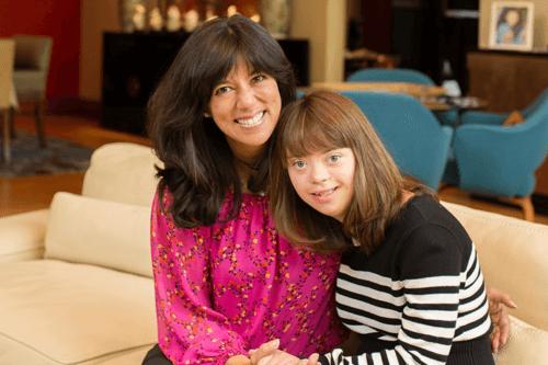 Michelle Sie Whitten and daughter, Sophia
