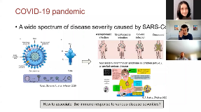 Computational Modeling... Unravels Heterogeneity of Immune Responses to SARS-CoV-2 and Beyond