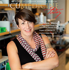 Cover of the fall 2019 Edition with Liz McConnaugh, PhD