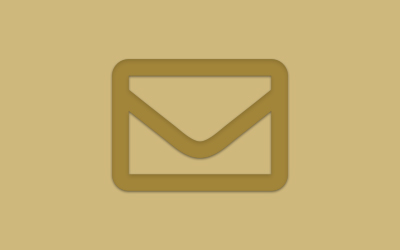 Illustrated graphic of letter envelope.