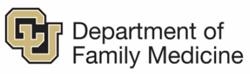 CU Department of Family Medicine logo.