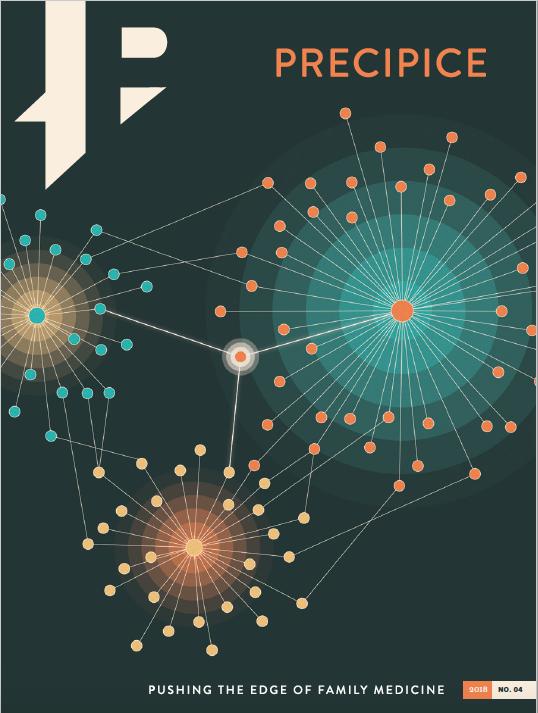 Image of the cover of Precipice publication 2018-2019.