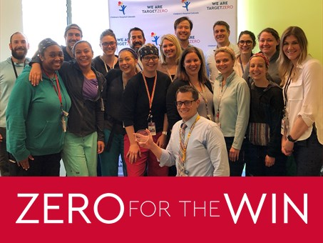 Neuropsychiatric Special care unit accepting Target Zero Award