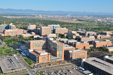 Ariel picture of University of Colorado Hospital