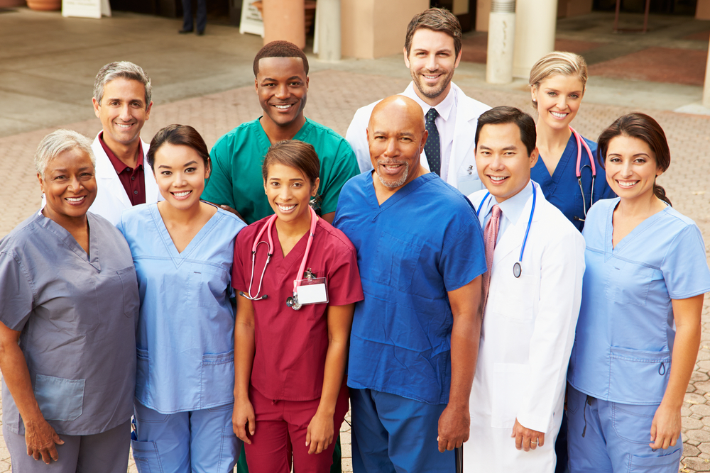 Picture of healthcare providers