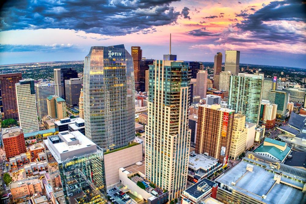 Picture of Denver skyline
