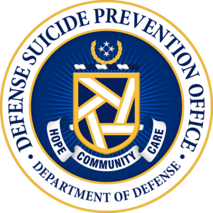 Defense Suicide Prevention Office seal