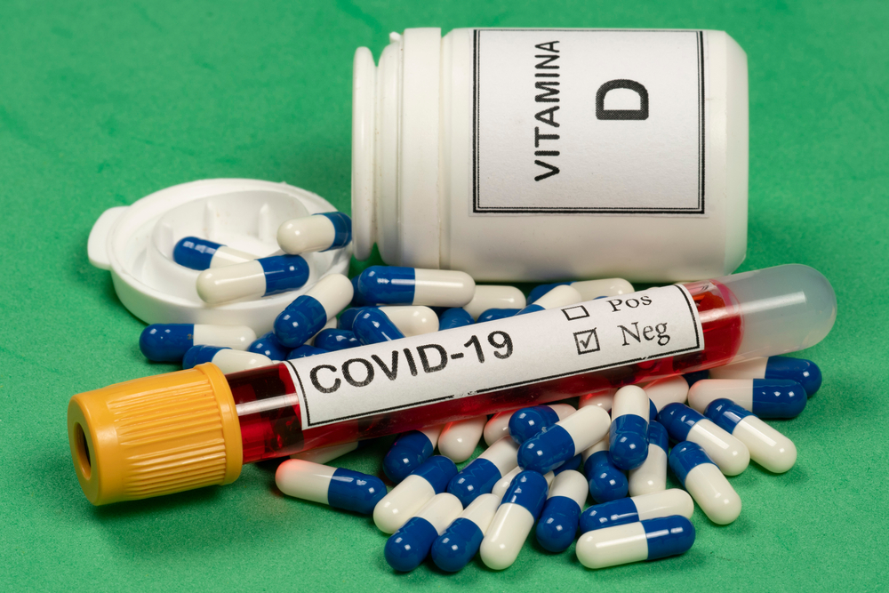 Image of Vitamin D with COVID-19 Test
