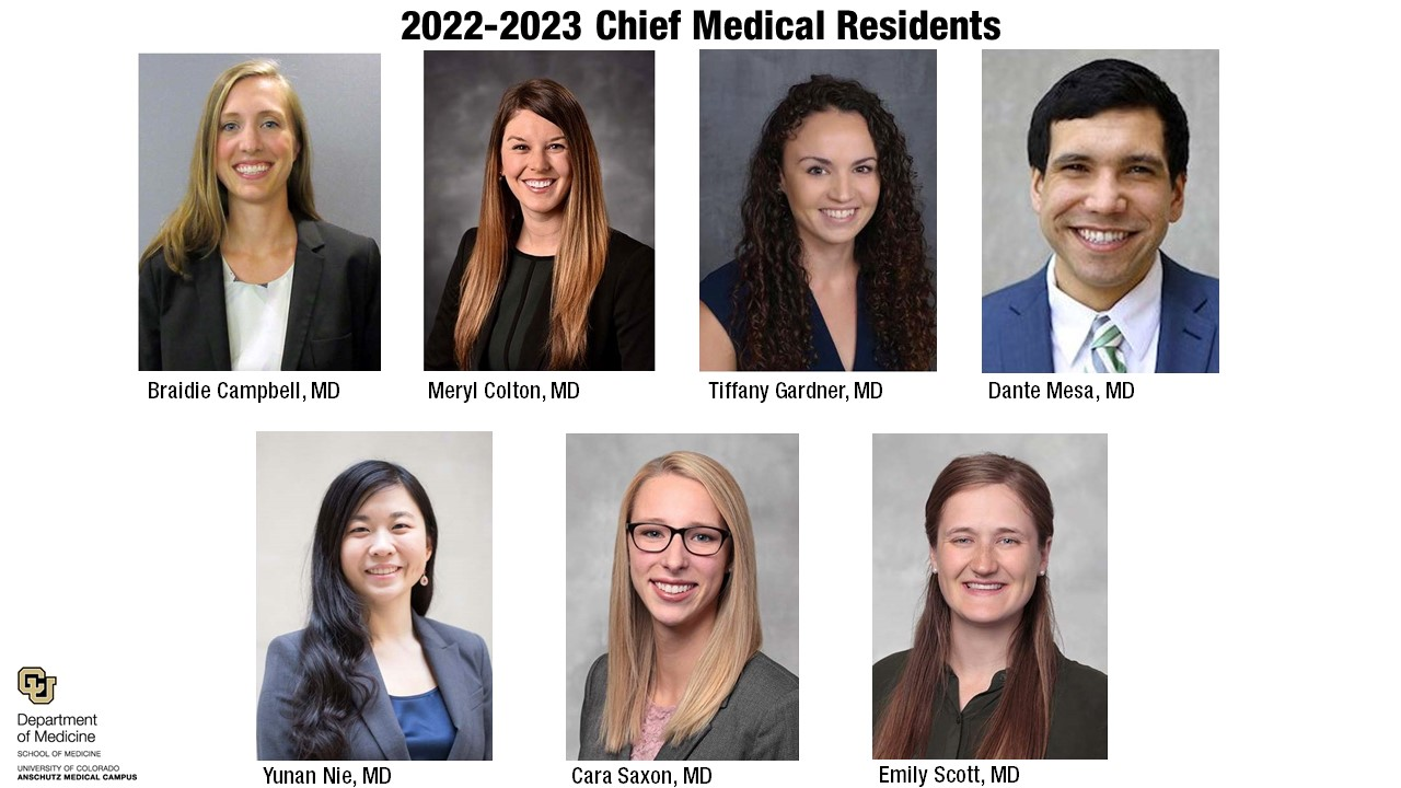2022-23 Chief Medical Residents