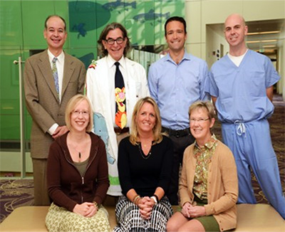 pediatric neurosurgery fellowship team