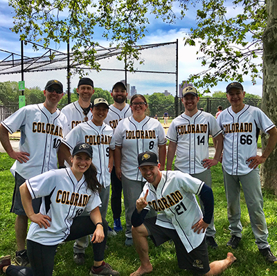 resident softball team