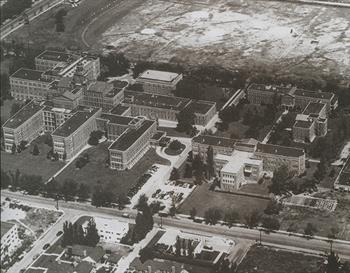 Ninth Street Campus in the 1940s