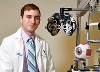 Michael Puente, Jr., MD, assistant professor of Ophthalmology