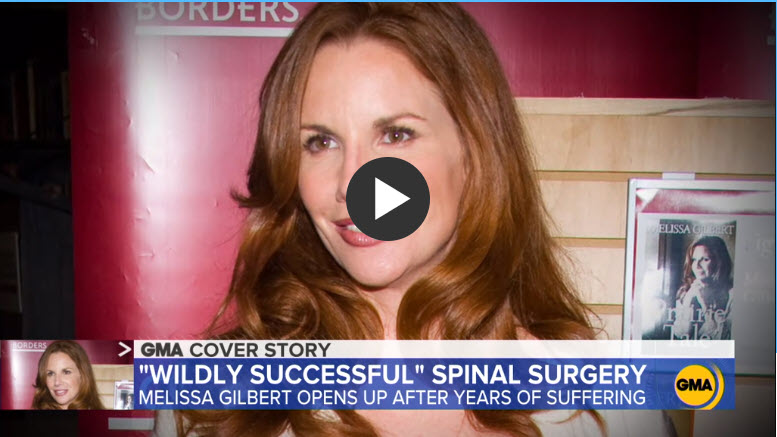 Dr. Patel - Melissa Gilbert Spine Surgery GMA 2020