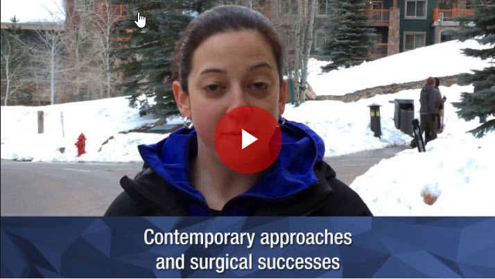 Contemporary approaches and surgical successes