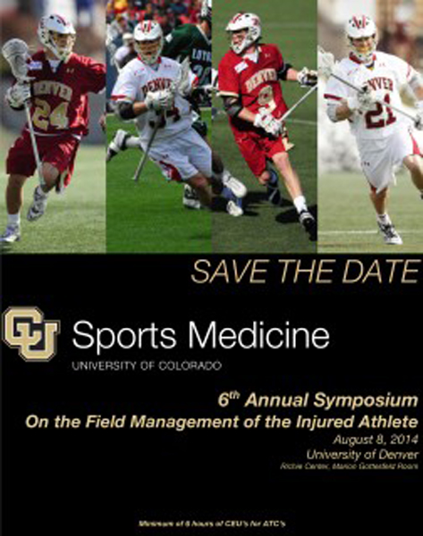 On the Field Management of the Injured Athlete