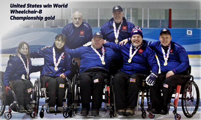 USA Wheelchair Curling Team_Gold