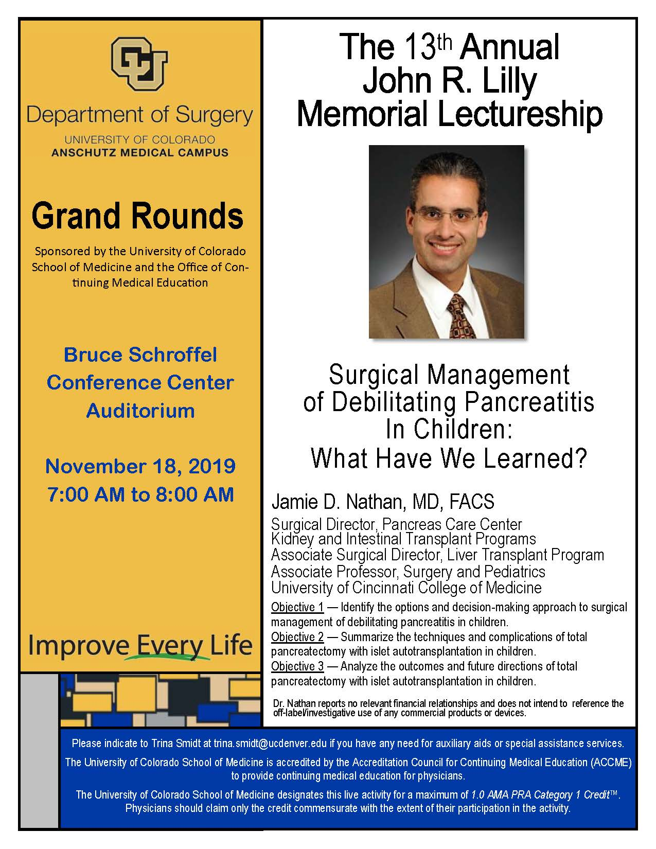 Grand Rounds 2019-10-21