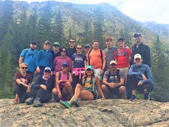 group hiking primary care residency