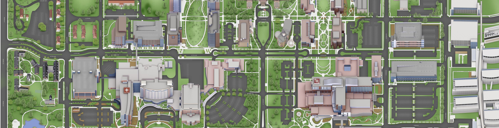 Campus Map Image- Click for Google Maps