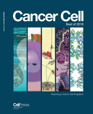 Cancer Cell Best of 2018 Magazine Cover