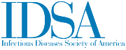 Logo reading IDSA Infectious Diseases Society of America