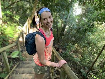 Sarah Poinski-McCoy Hiking