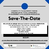 May 2021 CEF Save the Date Invitation