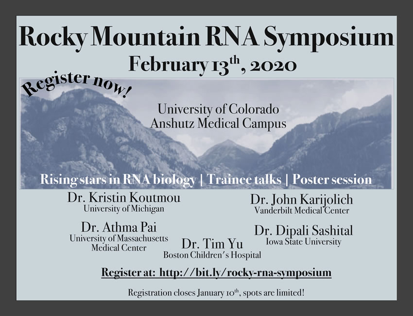 Rocky Mountain RNA Symposium 2020 poster